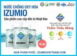 izumio nước thần kỳ giàu hydro nhập khẩu 100% nhật bản