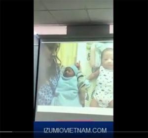 Nhau tiền đạo trung tâm ở bà bầu, giải pháp điều trị hiệu quả bằng nước hydro IZUMIO 2