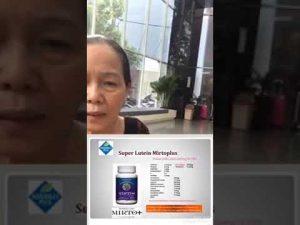Bệnh nhân bị cườm khô đục thuỷ tinh thể chia sẻ kết quả khi dùng Super Lutein Mirto Plus 5