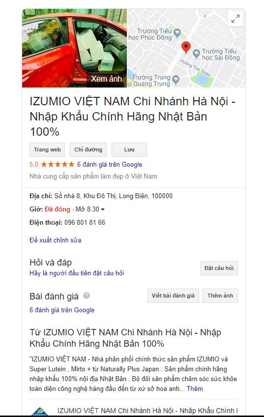 Tuyển đại lý , cộng tác viên  hợp tác kinh doanh cùng IZUMIO Việt Nam 2