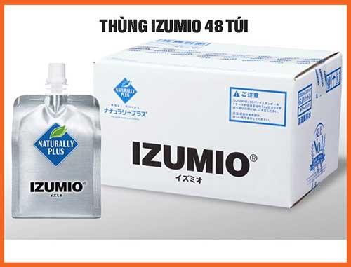 thùng izumio 48 túi tiêu chuẩn