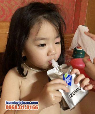 Nước hydro Izumio giúp hạ sốt hiệu quả cho trẻ em 4