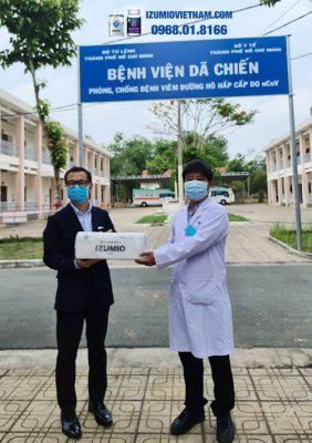 Tài trợ Y tế nước hydro Izumio cho bệnh viện Củ Chi tiếp sức phòng chống Covid-19 10