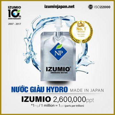 Nước Hydrogen là gì ? Bật mí tác dụng diệu kỳ của nước giàu hydrogen với sức khỏe con người 12