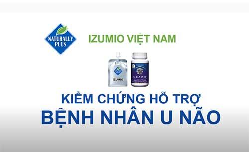 Nước hydrogen Izumio,Super Lutein hỗ trợ bệnh U não hiệu quả 7