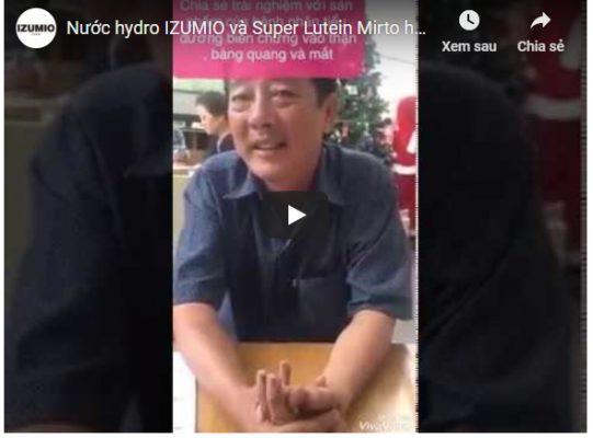 Nước hydro IZUMIO và Super Lutein Mirto hỗ trợ điều trị hiệu quả bệnh nhân biến chứng tiểu đường 2