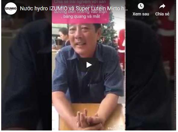 Nước hydro IZUMIO và Super Lutein Mirto hỗ trợ điều trị hiệu quả bệnh nhân biến chứng tiểu đường 4