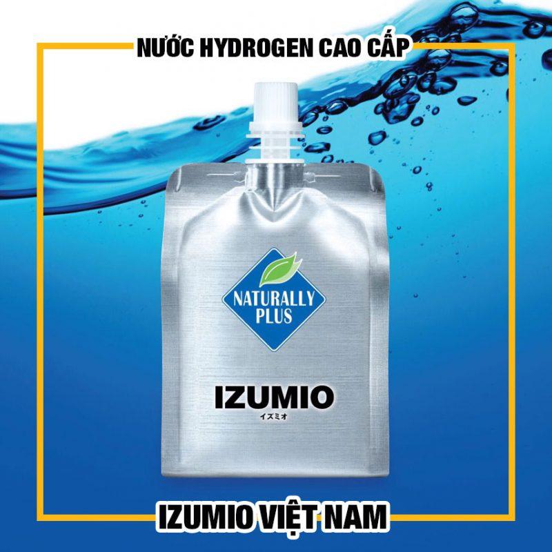 IZUMIO-Nước uống thần kỳ giàu hydro izumio bán chạy số 1 ở Nhật Bản - Đạt hiệu quả rõ rệt sau một liệu trình 9